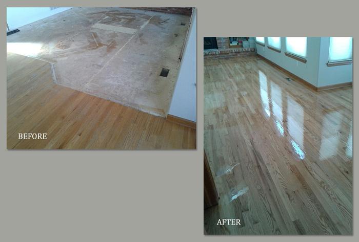Installation of Wood Floor