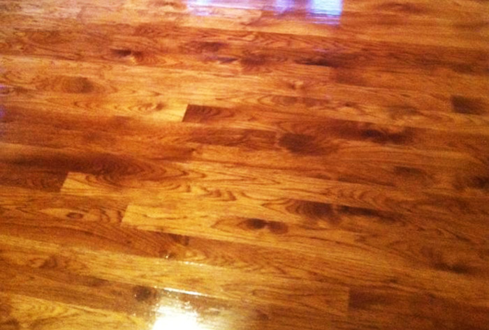 maple floor stained wood floor stained
