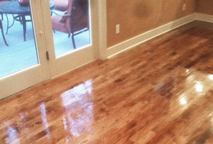 Gallery for Staining hardwood floors