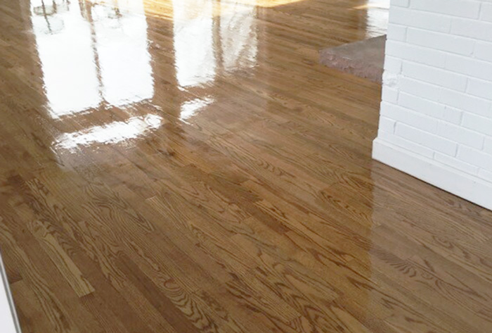 Refinished Wood Floor