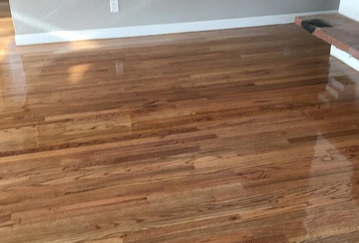 Wood floor refinishing service oak floor refinishing for Hardwood flooring service