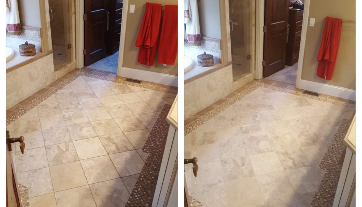 Before And After Gallery Stone And Tile Cleaning