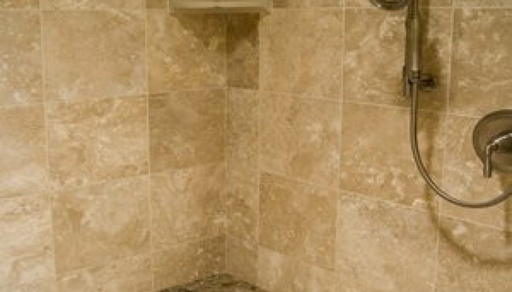 Travertine Shower Cleaning