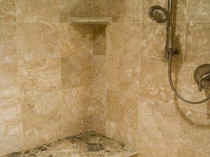 Travertine Shower Cleaning